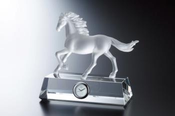 馬 フィギュアクロック