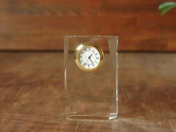 クリスタル時計  ロンバス 縦置き
