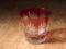 切子グラス「きらり」 (赤)